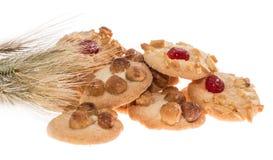 Куча смешанных печений с пшеницей стоковое изображение rf