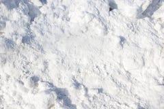 Куча снега в солнечном дне Стоковое Изображение RF