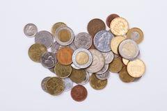 Куча собрания монеток Стоковое Изображение