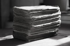 Куча старых книг Стоковые Фото