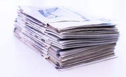 Куча счетов денег стоковые изображения