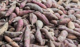 Куча сладких картофелей Стоковые Изображения
