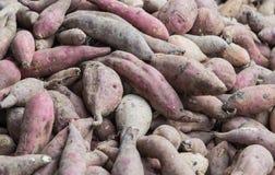 Куча сладких картофелей Стоковое Фото
