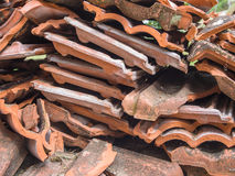 Куча сломленных плиток Стоковая Фотография RF