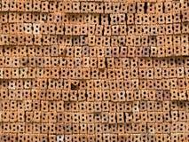 Куча тайского красного кирпича Стоковые Изображения RF