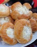 Куча типичных чехословакских тортов Стоковые Изображения