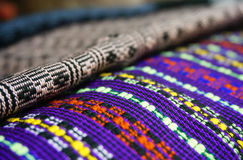 Куча ткани Lao Стоковое Фото
