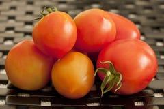 Куча томатов зрелая Стоковое Изображение RF