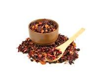 Куча травяного чая Стоковое Изображение