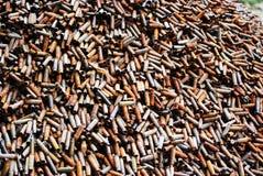 Куча трубок пуль оружия стоковые фото