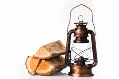 Куча фонарика швырка и масла Стоковые Изображения RF