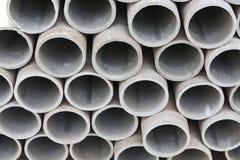 Куча цементных труб Стоковое фото RF