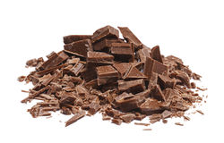 Куча шоколада Стоковые Изображения RF