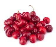 Куча ягод вишни Стоковая Фотография