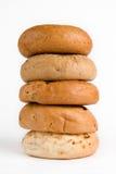 куча bagels Стоковые Фотографии RF