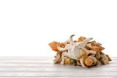 Куча seashells Стоковое Изображение
