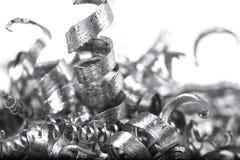 Куча shavings металла Стоковые Изображения