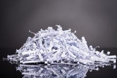Куча shredded документов стоковые изображения rf