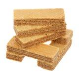 Куча waffles Стоковая Фотография RF