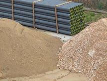 Кучи земли и камней Стоковая Фотография