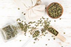 Кучи зеленого перца Стоковое Фото