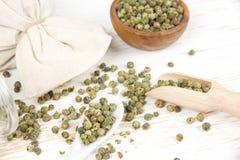 Кучи зеленого перца Стоковая Фотография RF