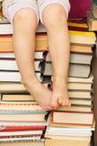 Кучи книг Стоковые Фотографии RF