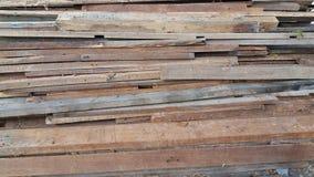 Кучи древесины сделали заказ заказ Стоковые Фотографии RF