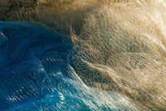 Кучи рыболовных сетей Стоковые Изображения