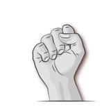 Кулак, бокс и бой Стоковые Фотографии RF
