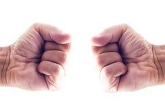 Кулак к кулаку Стоковое Изображение