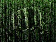 Кулак матрицы Стоковая Фотография