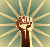 Кулак революции Стоковая Фотография RF