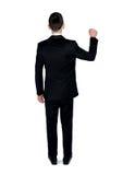 Кулак стука бизнесмена Стоковое Изображение RF