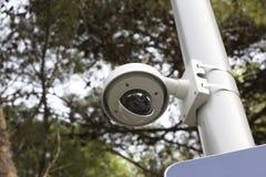 Кулачок безопасностью в общественном парке Стоковая Фотография