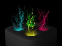 Кулига частицы Стоковые Изображения