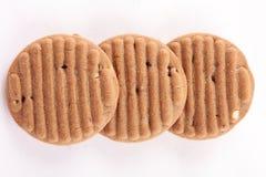 Кудрявые испеченные печенья плодоовощей шоколада сухие, Стоковое Изображение RF