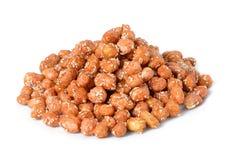 Кудрявый арахис с сезамом Стоковые Фото