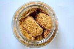 кудрявый рис лапши Стоковое Изображение RF