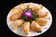 Кудрявый торт Durian стоковые фотографии rf