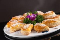 Кудрявый торт Durian стоковая фотография