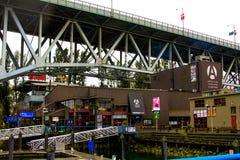 Кулуарный салон, остров Granville, Ванкувер, b C Стоковые Изображения