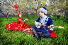 Культура казаха Стоковое Фото