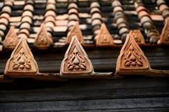 Культура крыши виска тайская Стоковая Фотография