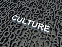 Культура иллюстрация штока