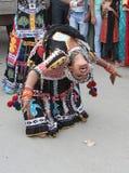 Культурное представление танца Стоковые Фотографии RF