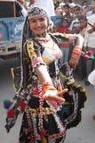 Культурное представление танца Стоковые Изображения RF