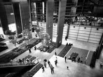 культурный институт Художнический взгляд в черно-белом Стоковое Изображение RF