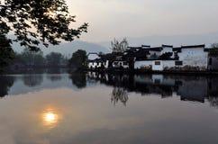 культурный мир hong наследия cun Стоковые Фотографии RF