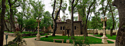 Культурный центр старый парк Стоковое Фото